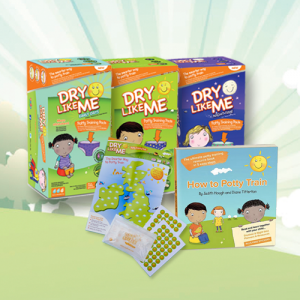 Win a Smart Way To Potty Train pack from Dry Like Me