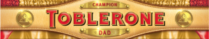Toblerone 400g Father's Day