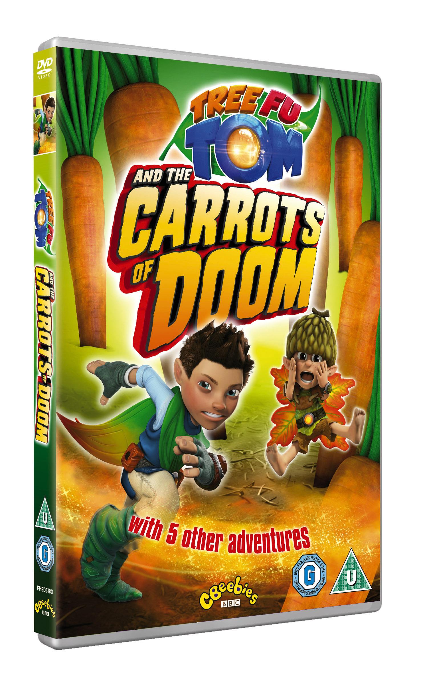 Carrots of Doom DVD_3D