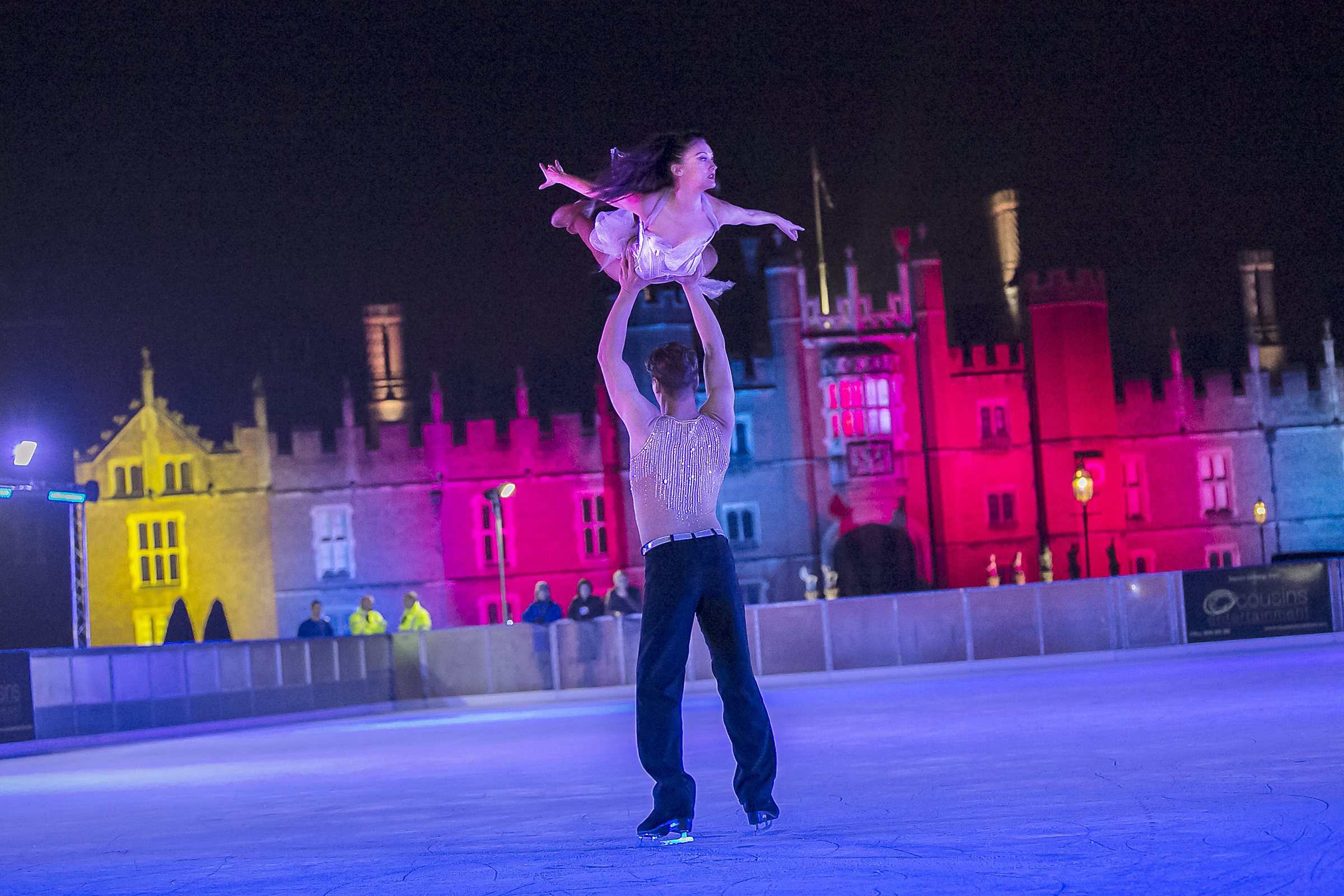 Hampton Court Palace Ice Rink Launch 4