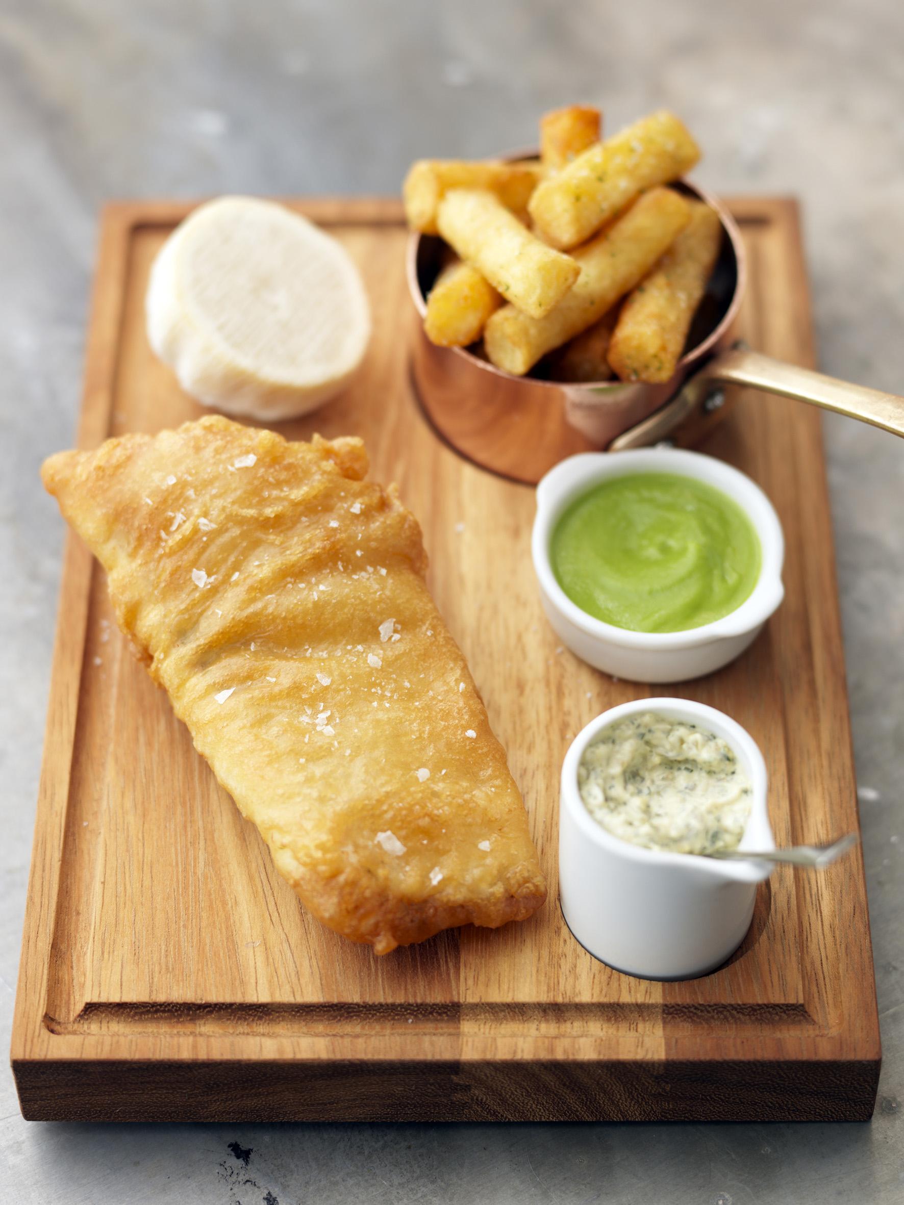 Tom Kerridge Fish and Chips