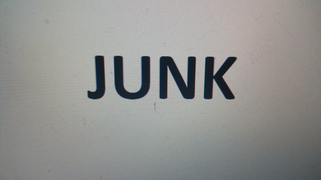 loose the junk