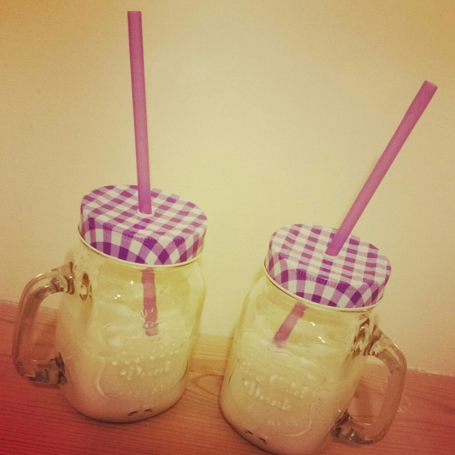 organic milkshake