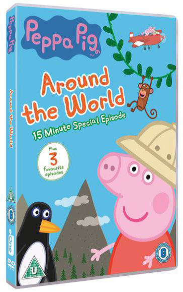 peppa around the world