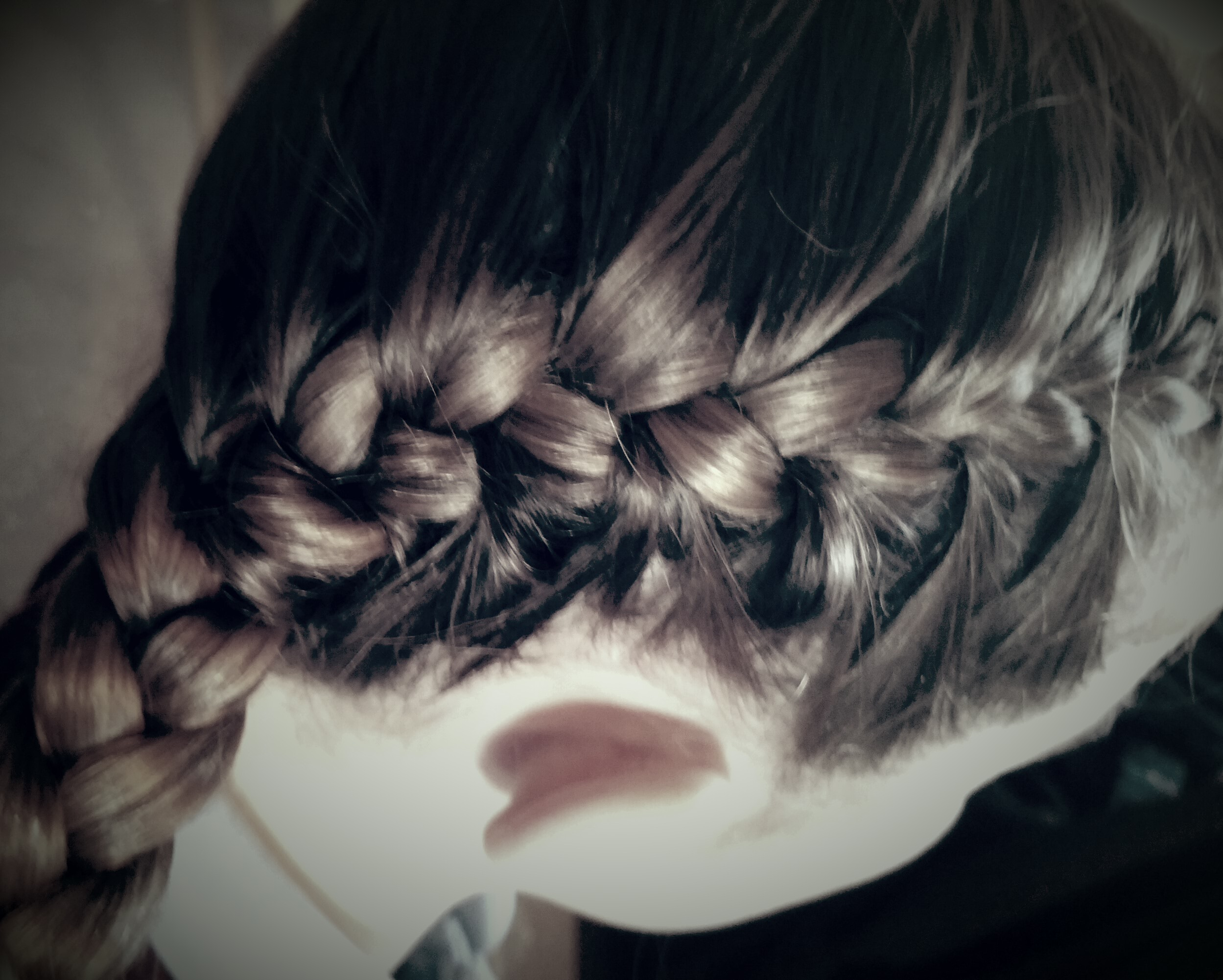 neat plaits for school