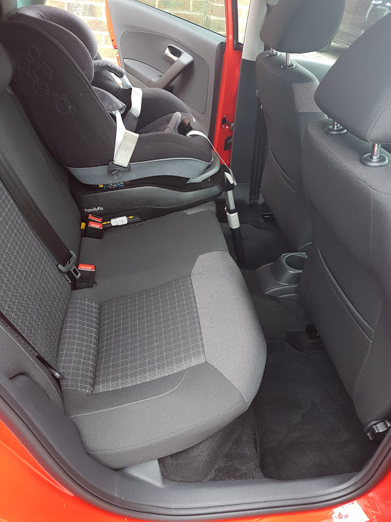 polo match with one isofix car seat