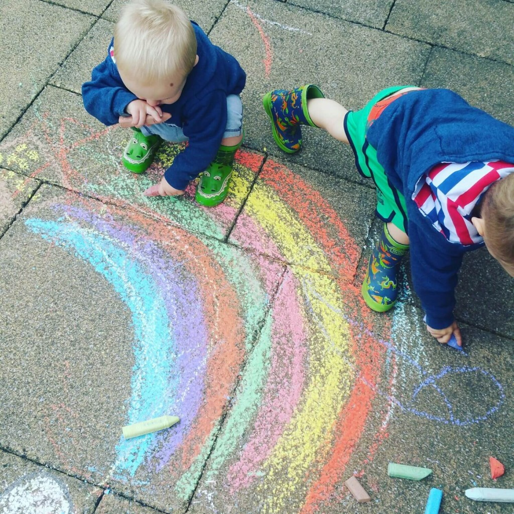 outdoor chalk
