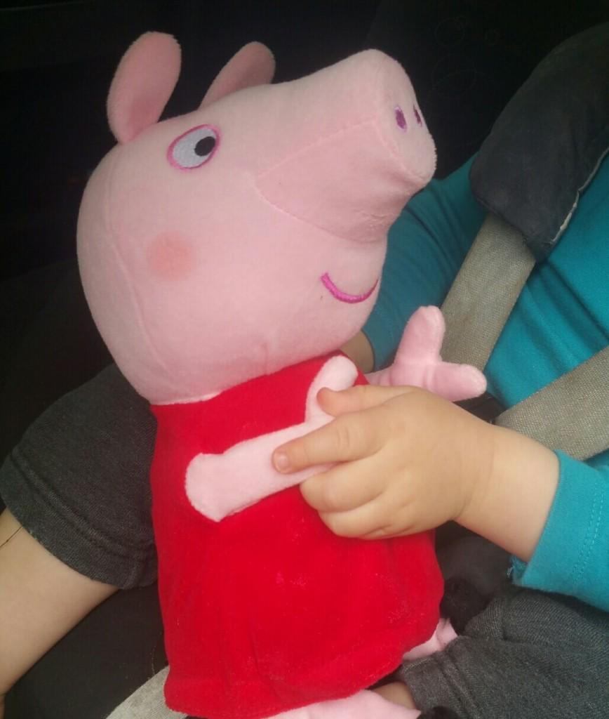 plush peppa pig