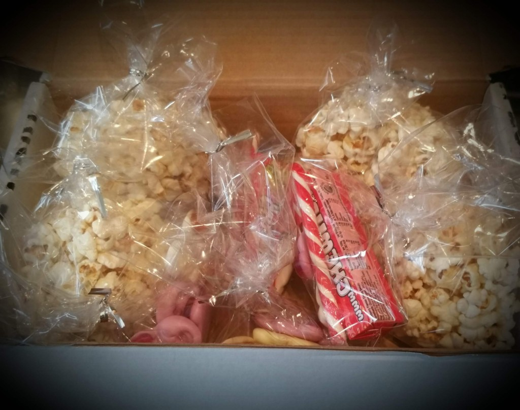 popcorn and sweets
