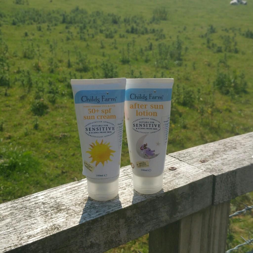sun cream