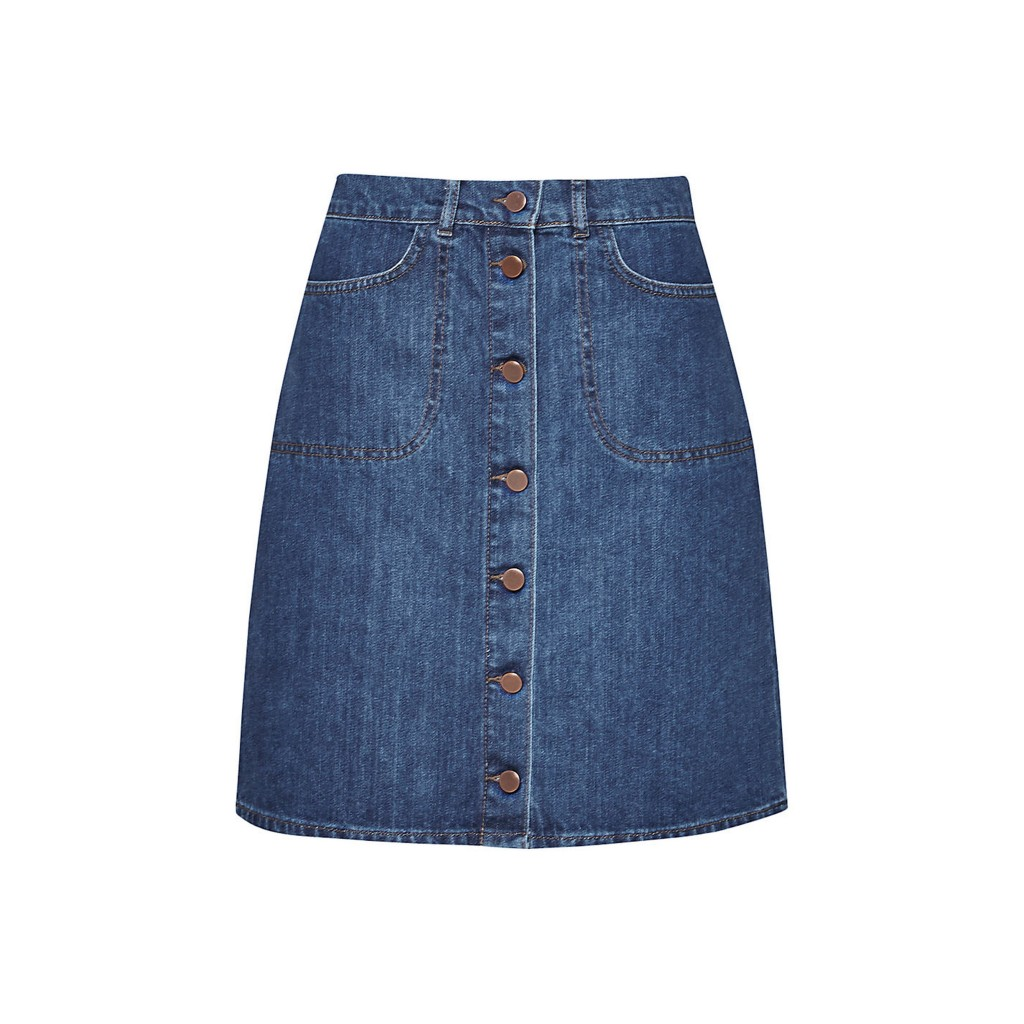 French Connection Women's Mia Denim Skirt