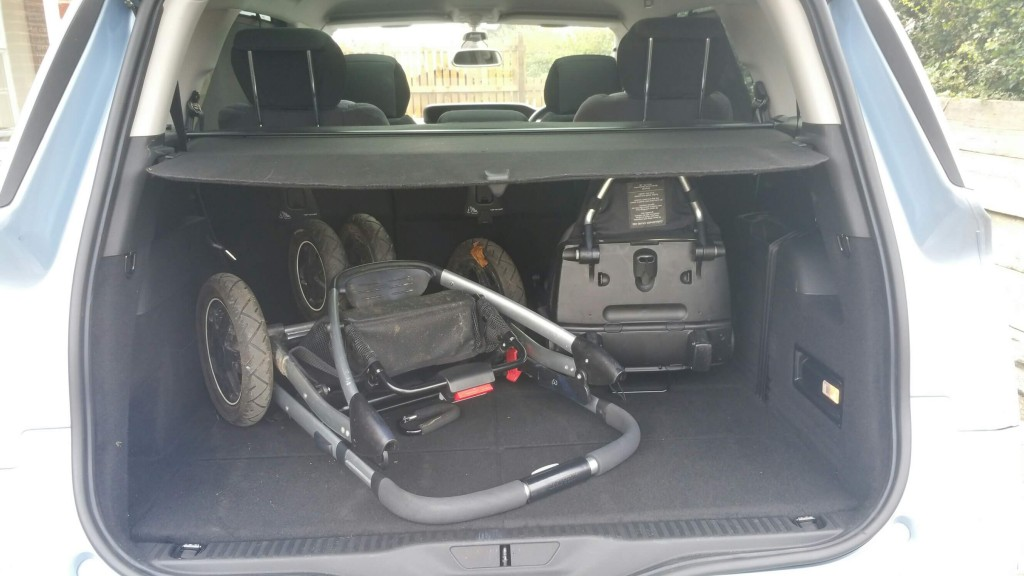 citroen boot with pram
