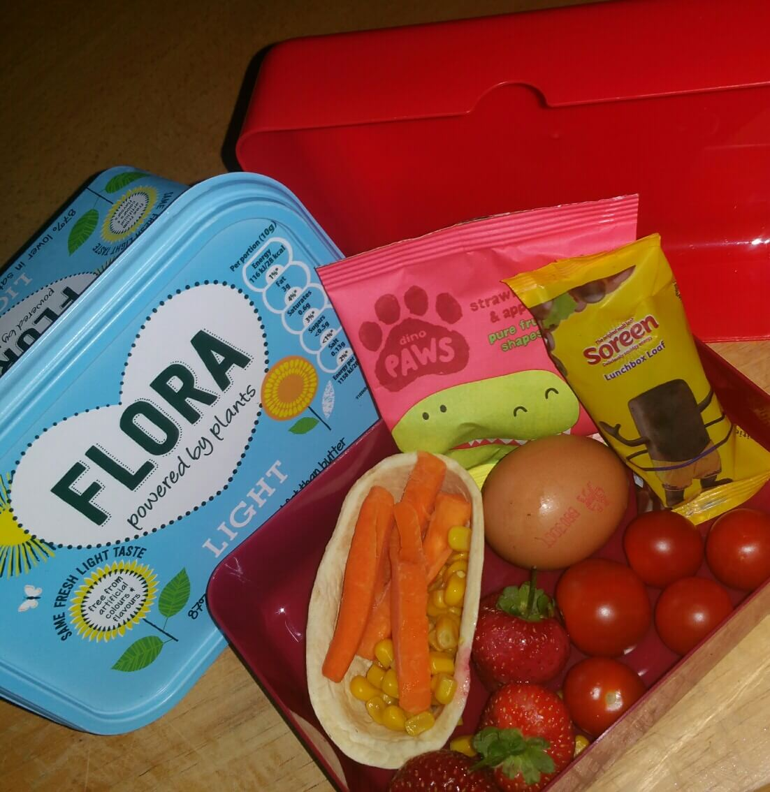 flora lunchbox
