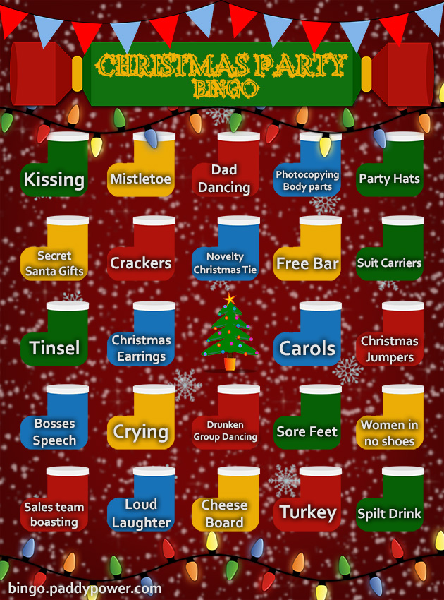 festive bingo