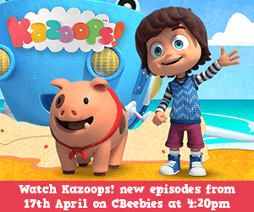 Cbeebies Kazoops