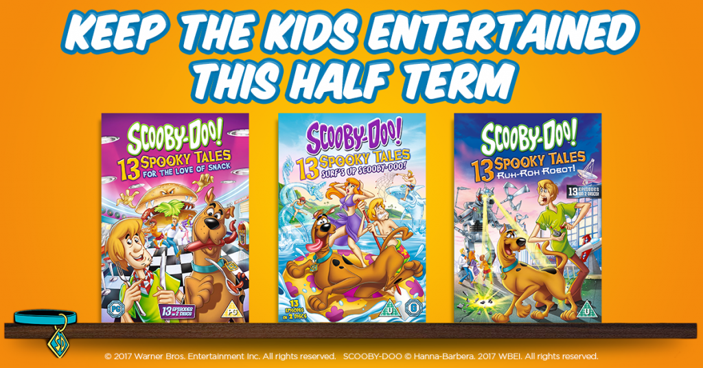 win DVDs for half term