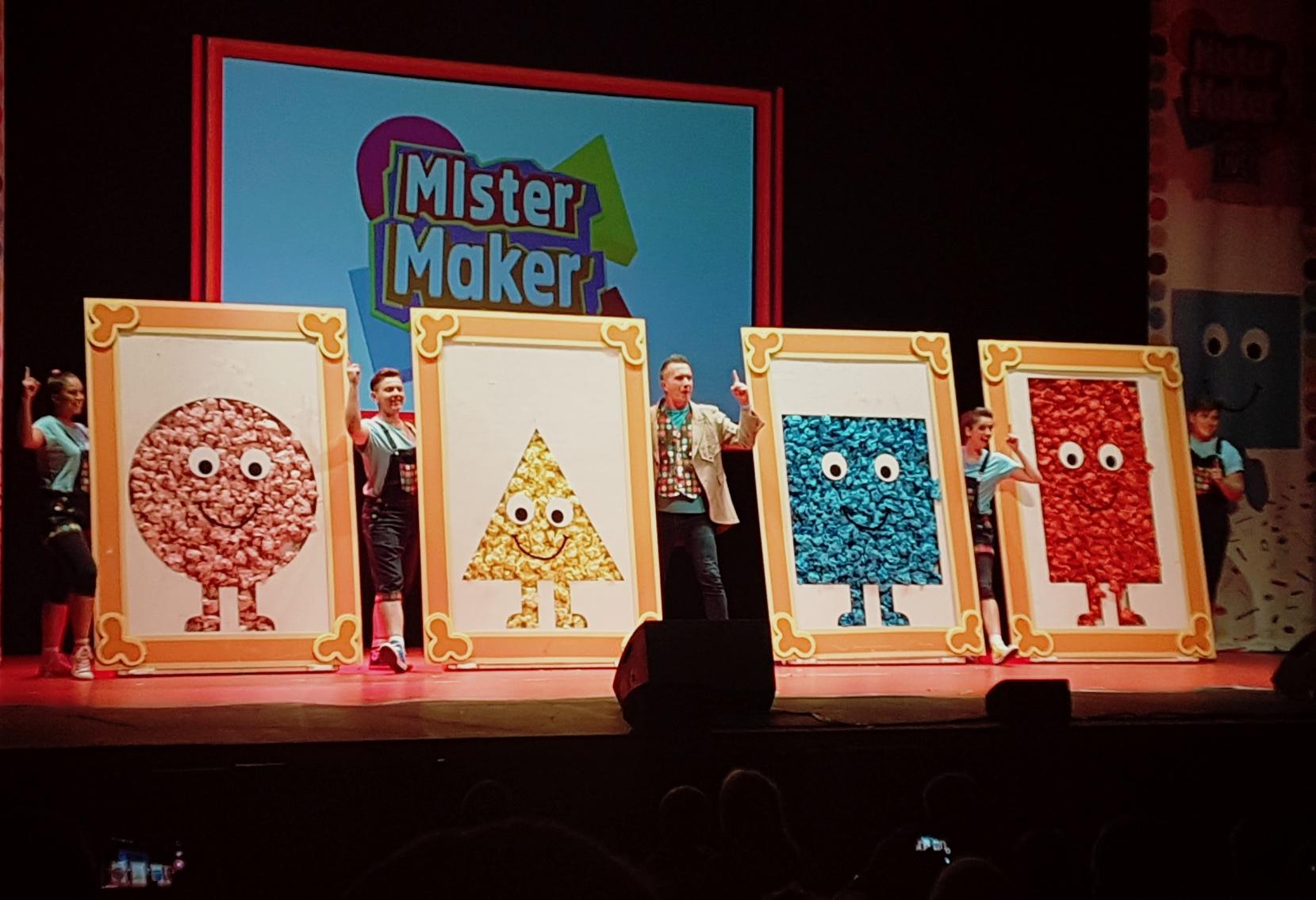Mister Maker Live 2017
