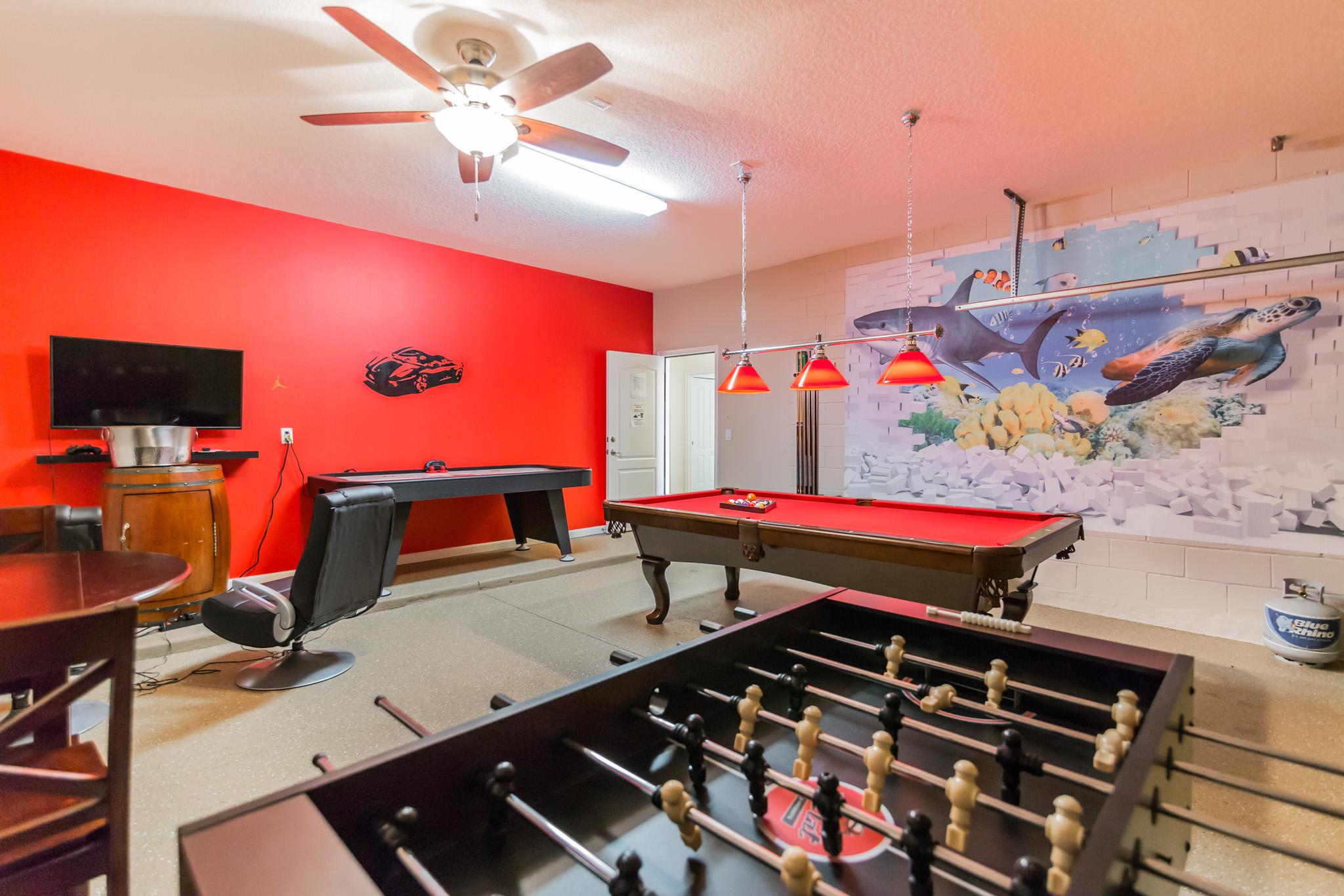 orlando villa with games room