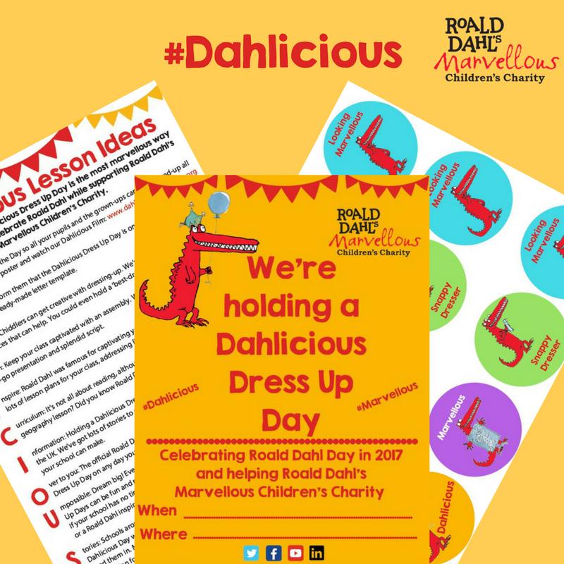 #Dahlicious #RoaldDahlDay