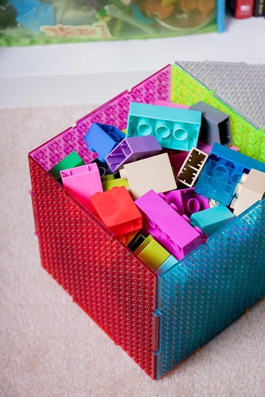 brick toys storage