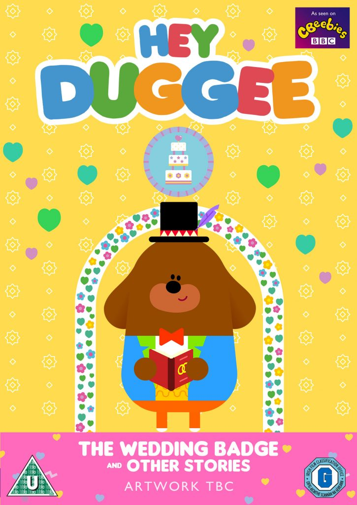 hey duggee cordially invites you to celebrate king tiger u2019s