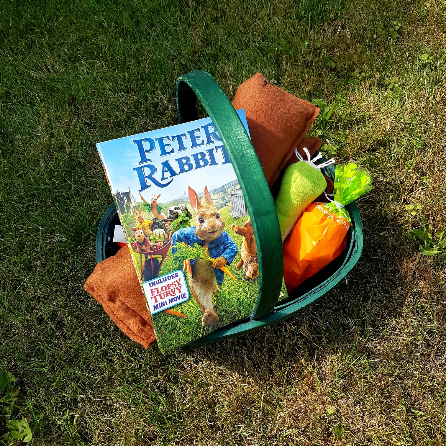 peter rabbit on dvd