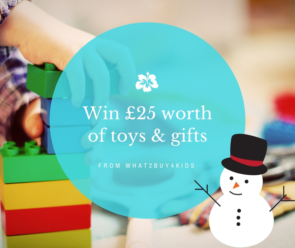 win £25 worth of toys and gifts