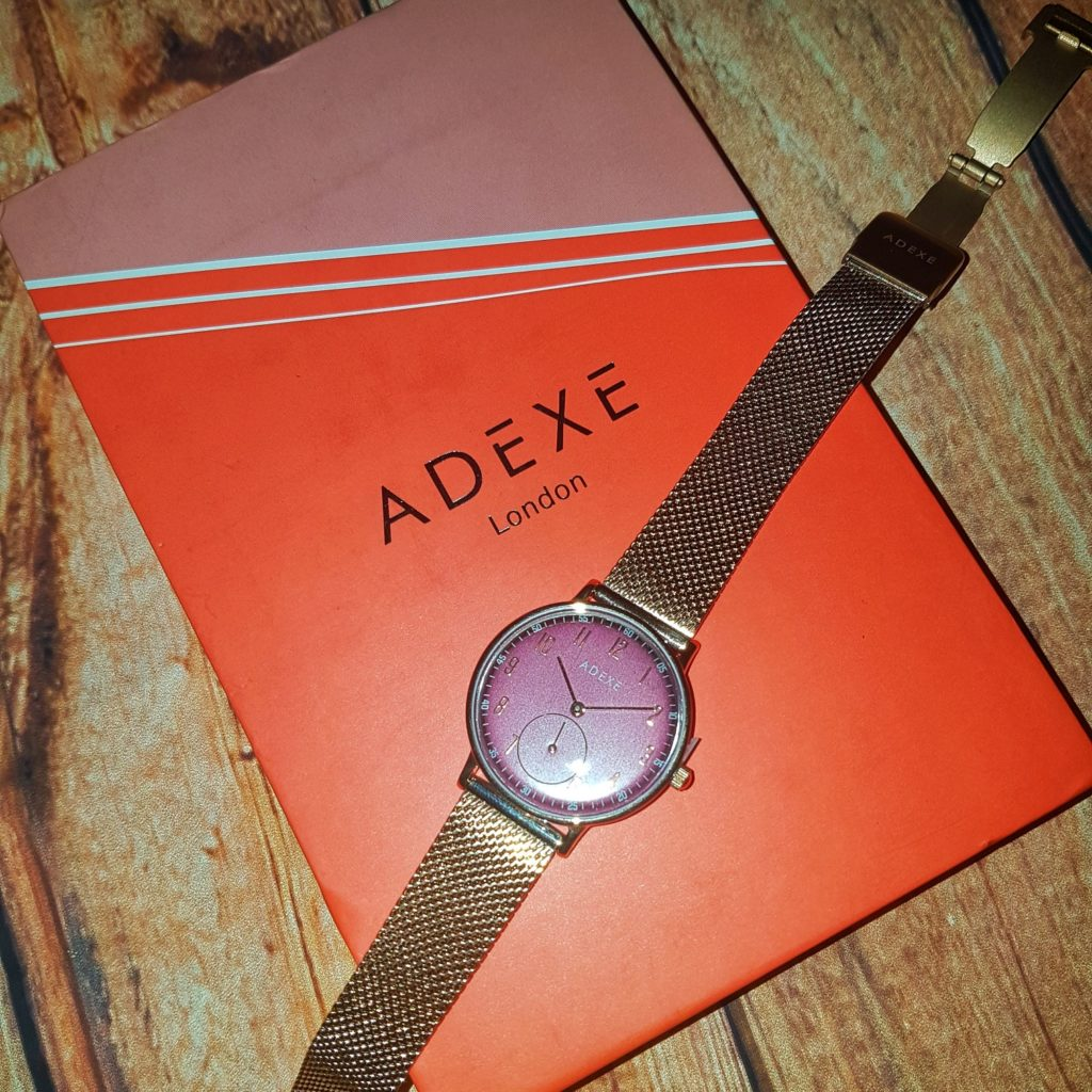 win an Adexe watch