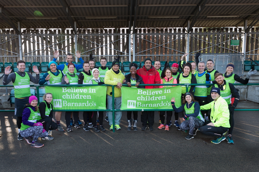 Barnardos London Marathon Training