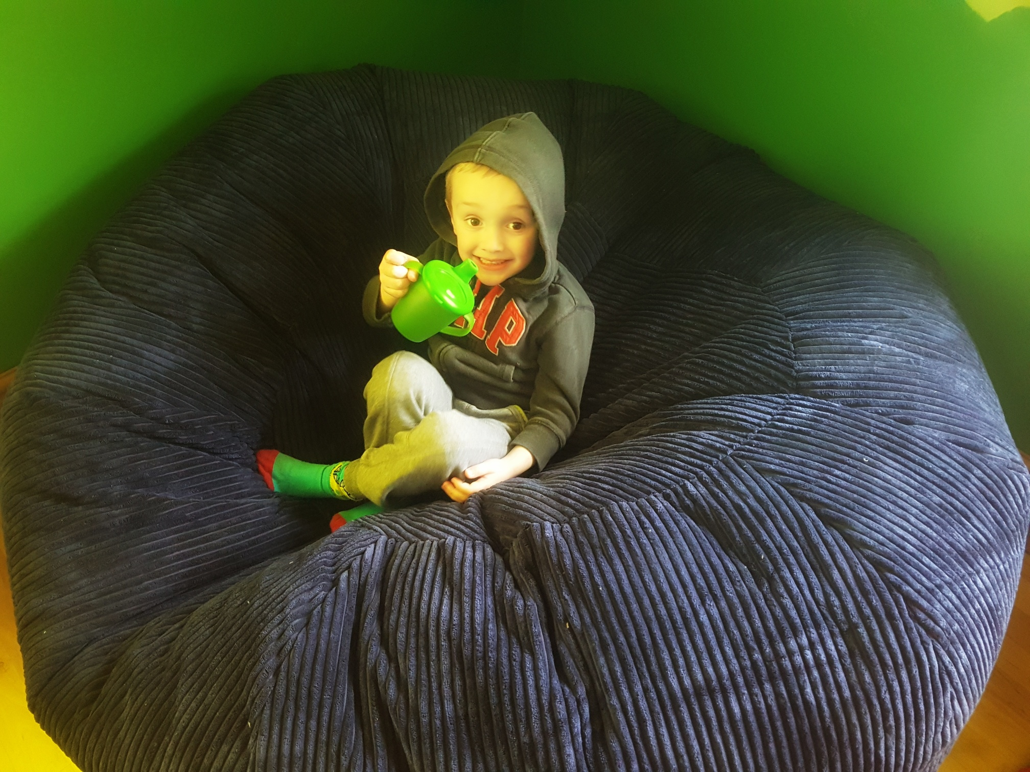 win a giant bean bag