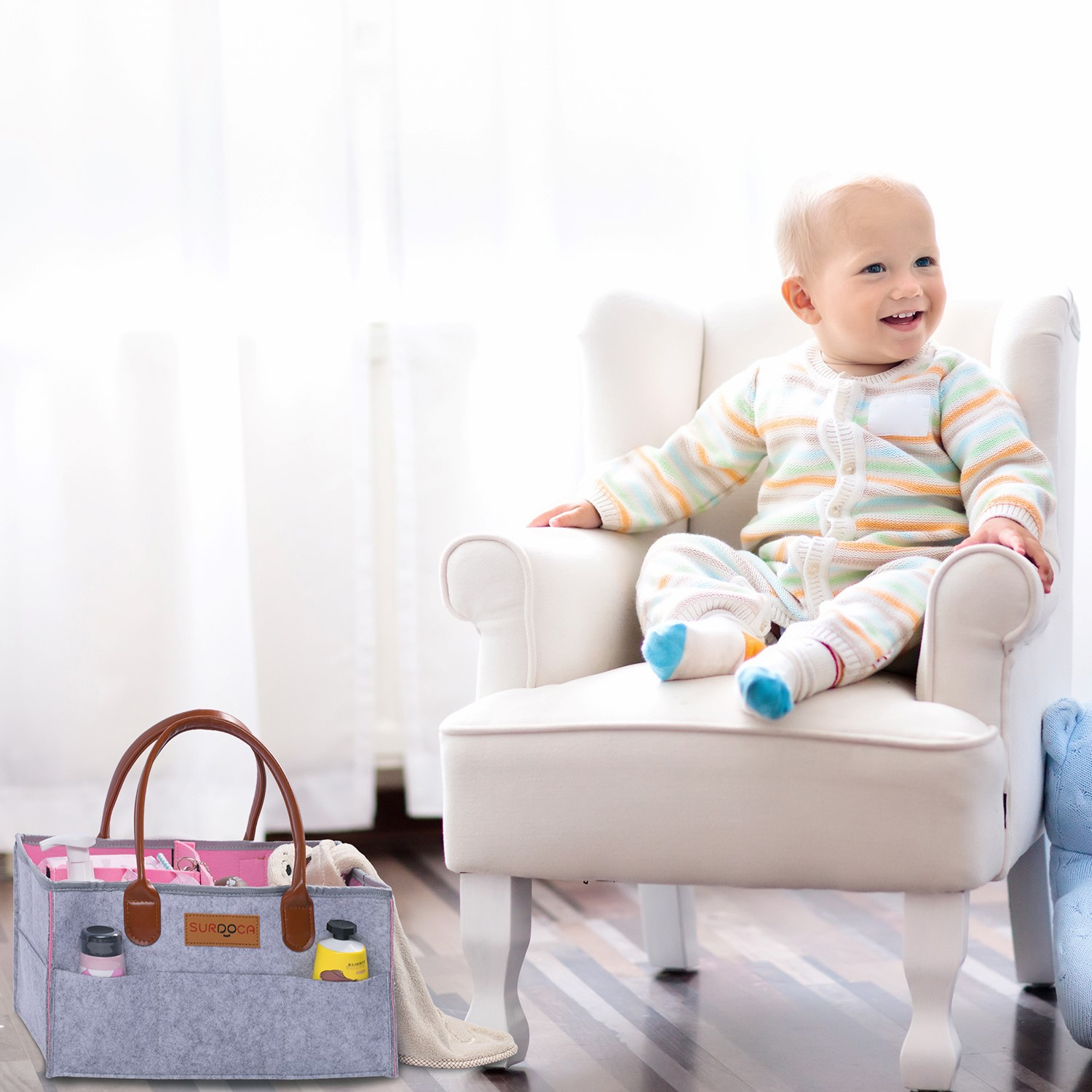 win a nappy caddy