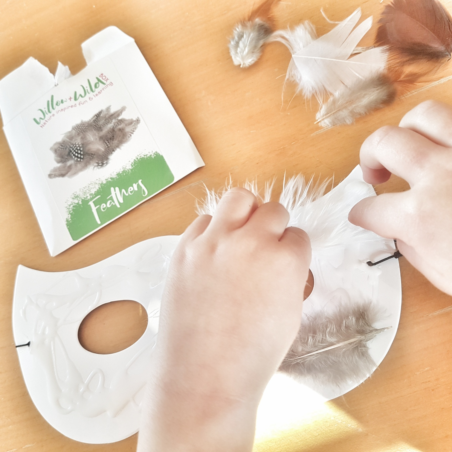 making an owl mask