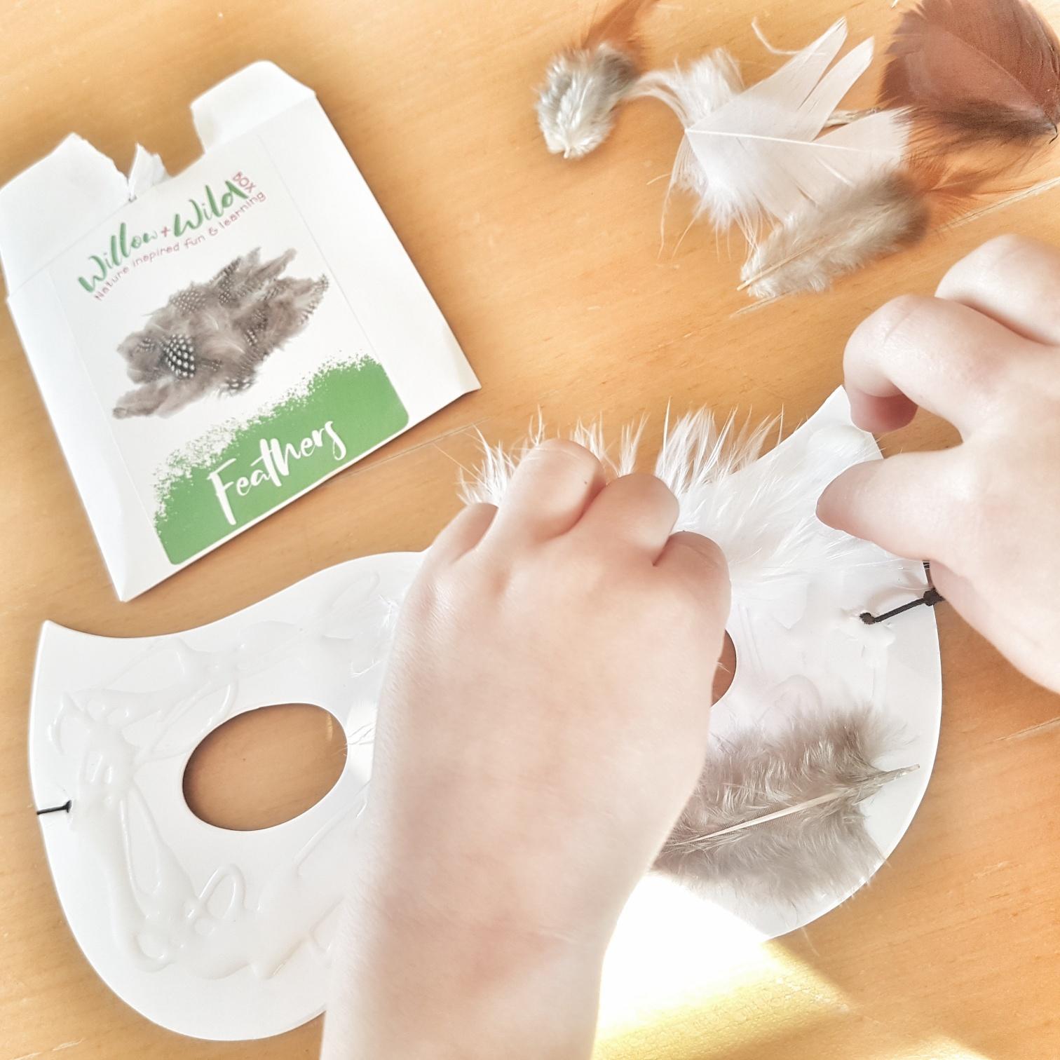 making an owl mask