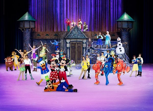 disney on ice full cast
