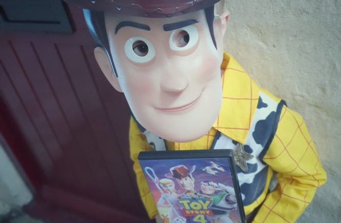 win Toy Story 4 on DVD